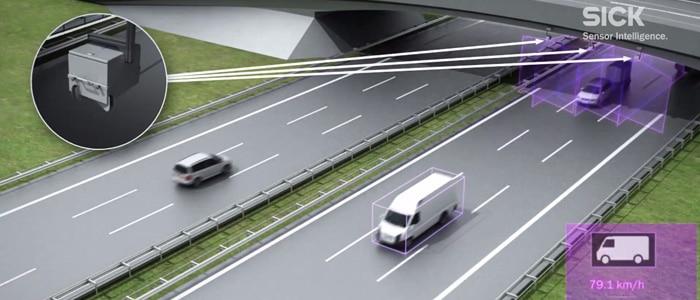 2 LiDar en croix pour scanner les véhicules