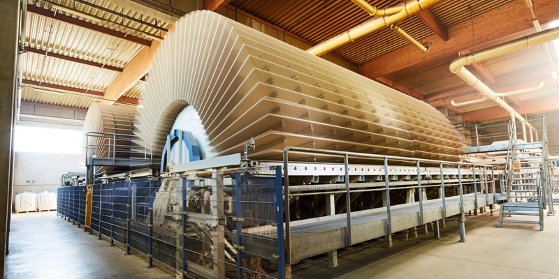 Spanplatten in der Holzindustrie