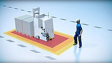 Safe Motion Control on an automated guided vehicle