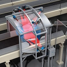 Airport Baggage Tracking Laser Technology Foto