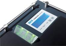 FLOWSIC150 CARFLOW: measuring car exhaust at 600C