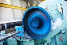Paper per running meter: RFID technology ensures an accurate production sequence