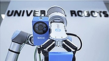Safe collaboration between humans and robots with Universal Robots and SICK