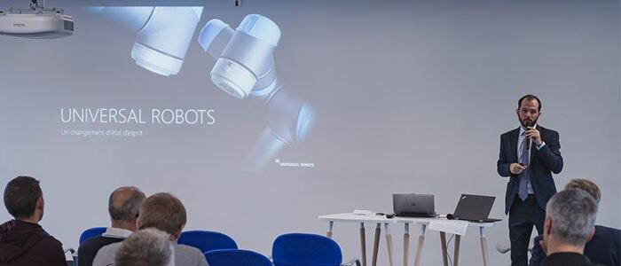 Adrien Poinssot, Directeur Commercial Universal Robots