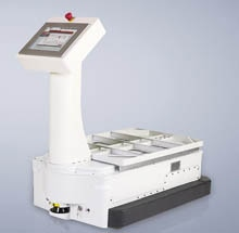 Safety laser scanners guarantee flexible travel path monitoring