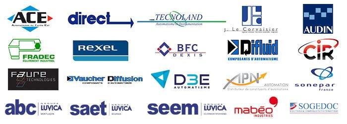 Logos associés à SICK France