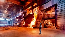 SICK Green Products Steel Industry Image