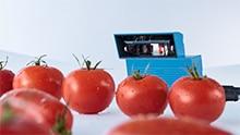 Streckkodsläsare för livsmedelsindustrin
