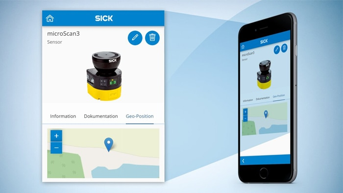 Explaining the Installed Base Manager (Step 1 of 4) | Smart Data Solutions | SICK AG