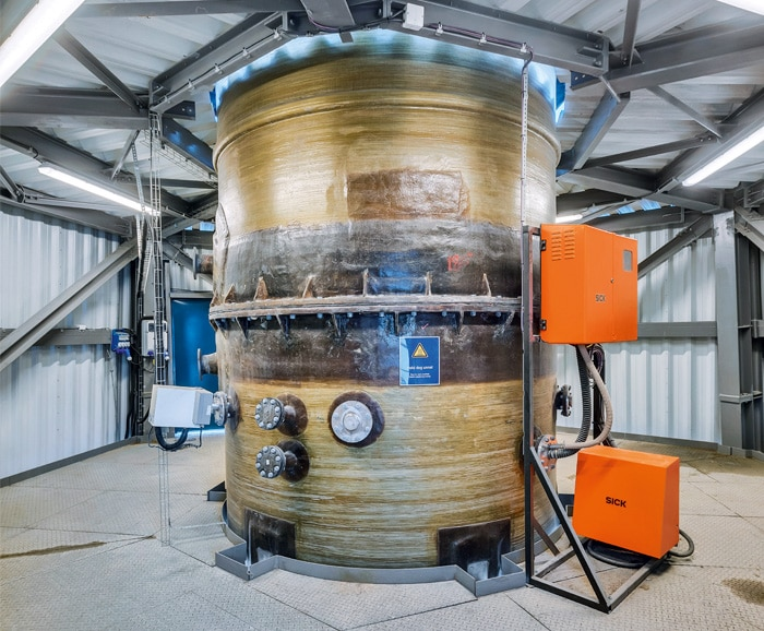 Clean exhaust gas and compliant emission limit values are the cornerstones of success. The gas cleaning system was ready for operation in short time