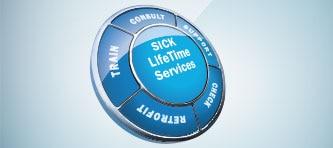 Service : Découvrez comment SICK peut vous accompagner tout au long de la durée de vie de vos machines