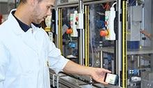 Diagnostic rapide via app - Barrage de sécurité deTec4