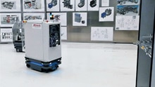 Ultracompact mobile robots optimize the process chain