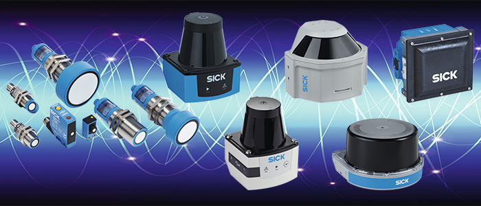 Gamme capteurs ultrasons, LiDAR et Radar SICK