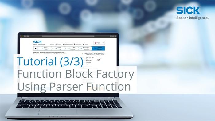Tutorial Function Block Factory (Part 3/3): Using Parser Function