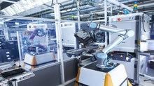 Cobots Claus & Clara: robótica colaborativa com sistema de segurança SICK