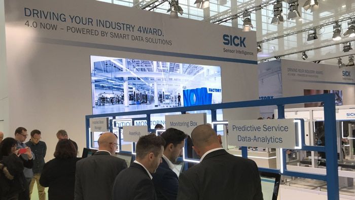 Visitors learn interactively how easy it is to implement Industry 4.0 principles today