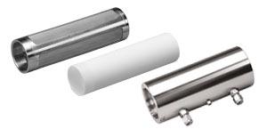 Edelstahlfilter, PTFE-Filter, Messgaszelle