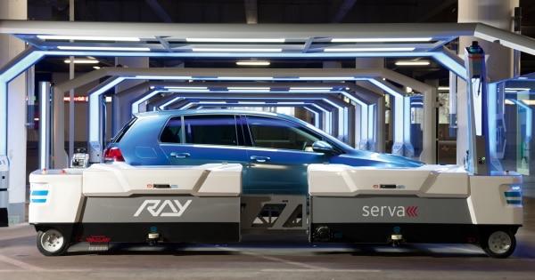 Serva Roboter Ray