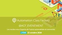 Evénement Automation Classe Factory, le 22 Octobre à LYON
