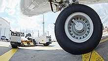 Collision awareness and driver assistance for aircraft tractors
