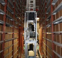 Storage capacity doubled, handling performance boosted