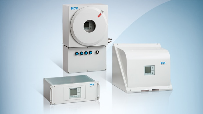 All relevant gas components for this process can be measured both with the S700 and the GMS800 – with up to three or even six different analysis modules.