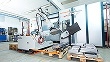 Safety solution for a mobile heavy-load robot