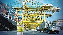 Automation and risk reduction at ports and terminals