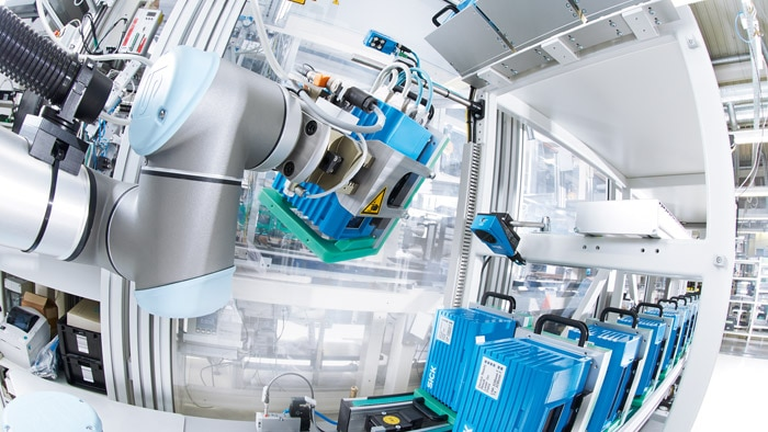 Improving manufacturing processes with robotics