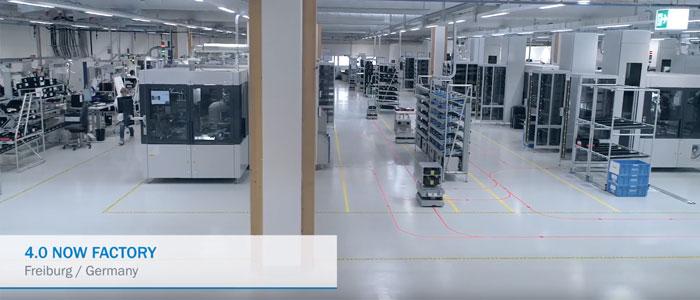 4.0 NOW Factory de SICK à Fribourg