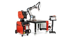 Safe and fast: nanoScan3 makes Cobot welding even more efficient