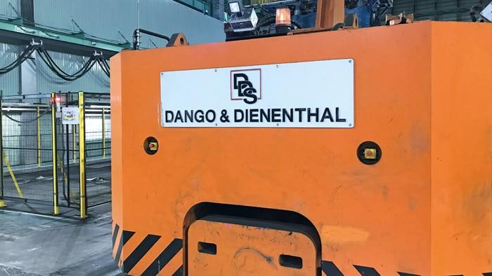 DANGO & DIENTHAL forging manipulator