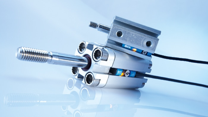 Magnetic cylinder sensors in pneumatics