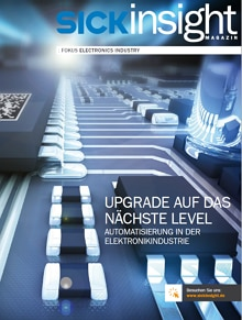 SICKinsight Electronics Industry Cover Deutsch