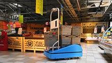 L'AGV SUitee Cobotics réinvente le travail dans la Grande Distribution pour le rendre plus efficace