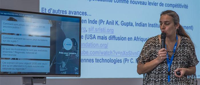 Nadège Troussier, Responsable Unité de Recherche Homme, Environnement, TIC à l'IUT de Troyes