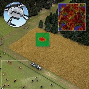 Die meisten der Mess- und Überwachungsaufgaben, die bisher den teuren Einsatz von Hubschraubern verlangten, kann die kostengünstigere UAV-Technik (Unmanned Aerial Vehicle) problemlos übernehmen, wie z. B. die Kartierung.