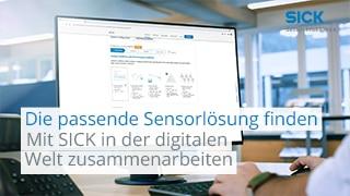 Die passende Sensorlösung finden – Mit SICK in der digitalen Welt zusammenarbeiten