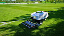 First robotic mower for large outdoor areas with intelligent sensor technology
