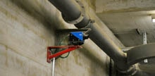 Holcim cement plant: Distance sensors always know where Louise is