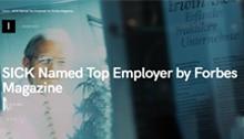 Le magazine Forbes cite SICK dans le palmarès des « meilleurs employeurs du monde »