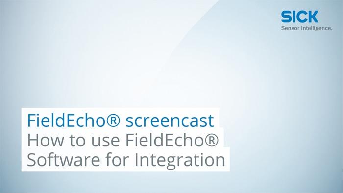 FieldEcho® screencast: How to Use FieldEcho