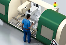 Video: Safe-Motion-Lösungen von SICK zur sicheren Überwachung von Antrieben beispielsweise in Werkzeugmaschinen