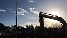 Sécuriser facilement une zone de danger sur un chantier extérieur avec la technologie LiDAR