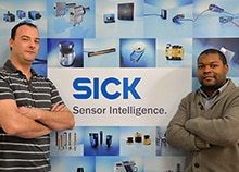 2 experts SICK certifiés TÜV