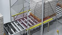 Beispiel: Mustererkennung mit Sicherheits-Lichtvorhang