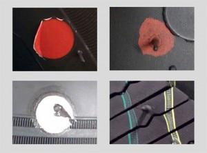 Rot ist nicht gleich Rot: große Herausforderung bei der Identifikation und Validierung unterschiedlichster Farbmarkierungen.