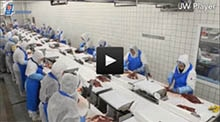 Identification solutions from SICK optimize meat processing at Goedegebuur