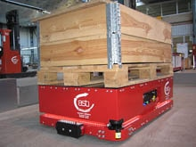 Automated guided vehicles: 360 protection for collision-free mobility in the warehouse